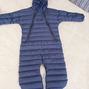 Patagonia - Goose Down Hooded Snow Suit 6 months